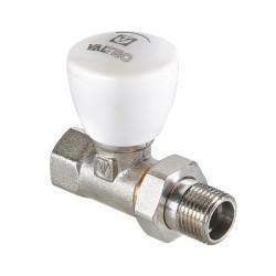 """Клапан ручной VALTEC, для радиатора, прямой 1/2"""" (7/105)"""