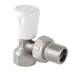"""Клапан ручной VALTEC, для радиатора, угловой 1/2""""(9/135)"""