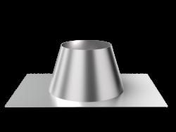 Крышная разделка прямая (430/0,5 мм) ф200 (уп. 5шт)