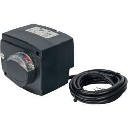 Сервопривод STOUT для смесительных клапанов, ход 90°, для пропорциональной регулировки