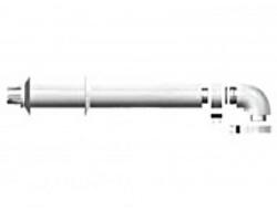 Комплект коаксиальный D 60/100 - 1000 мм для прохода через стену для газовых котлов Ariston. Артикул 3318000