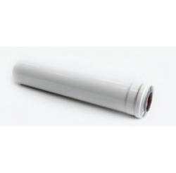 Удлинитель дымохода-500 мм BCSA 0484 коаксиальный 60/100 (White)