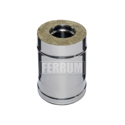 Сэндвич Ferrum 0,25м (430/0,5 мм + оц.) ф100х200