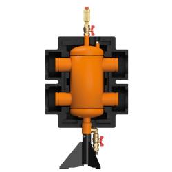 ME 66374.80 Стрелка 280 кВт 12 м3/час Ду80 с гидравлическим выравниванием, Victaulic
