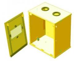 Ящик для счетчика газа (110 мм) разборный