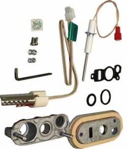Комплект смотрового отверстия с электродом розжига и ионизации 50-100 кВт Bosch 7 736 700 560