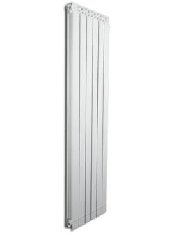 Дизайнерские алюминиевые радиаторы Fondital GARDA DUAL 80 ALETERNUM  1800 (6 сек)