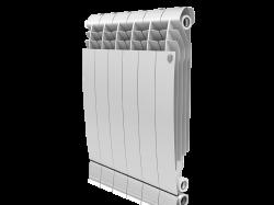 Алюминиевый радиатор Royal Thermo Biliner 500 (6 секций) inox